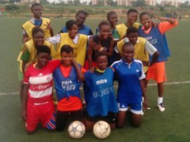 football match for 100 days of Chibok girls