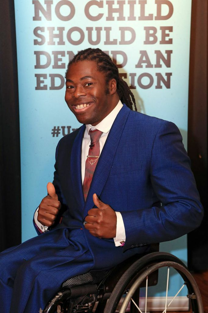 Ade Adepitan #UpForSchool rally London