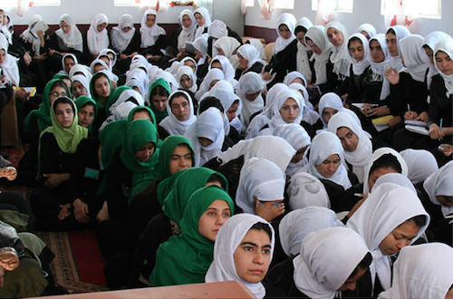 Afghan girls educated by Afghan Learning Institute