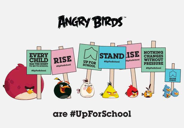 Angry Birds #UpForSchool