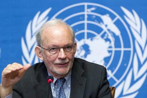 Anthony Lake UNICEF executive Director