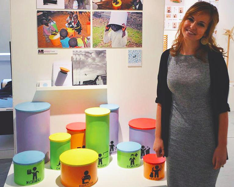Behtany Frank design student PlayGarden