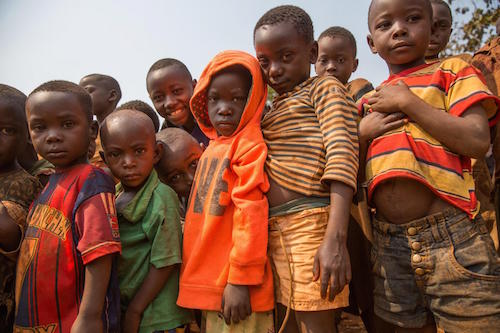 Burundian children at a refugee campa in Tanzania Picture: UNICEF/Beechey