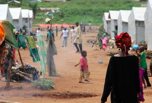 CAR children at refugee camp in Cameroon picture OCHA/Ivo Brandau