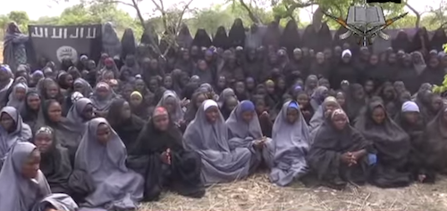 Chibok girls in video released by Boko Haram