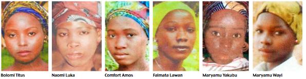 Chibok girls photos2