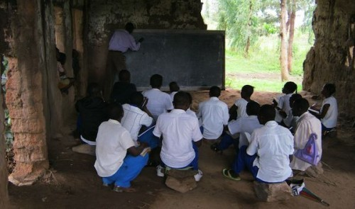 Democratic Republic of Congo classroom