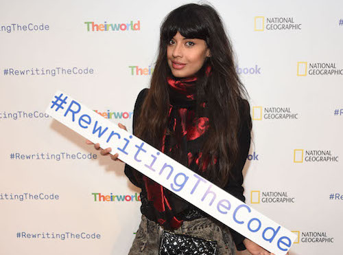 Facebook #RewritingTheCode event with Jameela Jamil