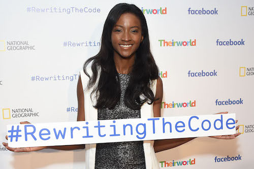 Facebook #RewritingTheCoode Lyndsey Scott picture by Getty Images