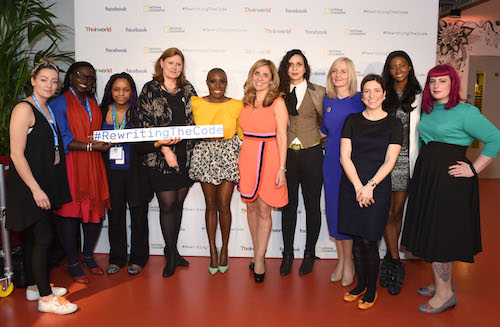 Facebook #RewritingTheCode event speakers and panellists picture by Getty Images