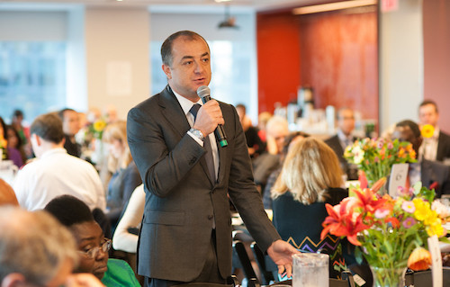 GBC-Ed breakfast Elias Bou Saab picture by Steve Gong