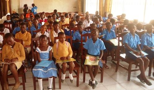 Cameroon Story Summit organised by GYA Fideline Mboringong