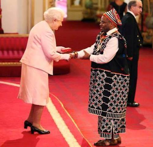 GYA from Cameroon Joannes Paulus Yimbesalu gets Queens Young Leaders award