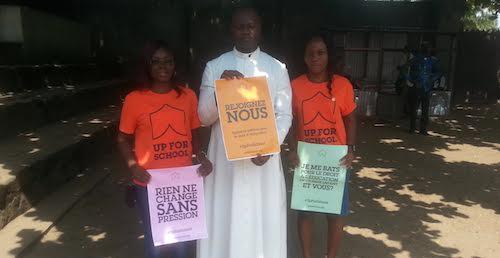 GYAs from DRC Clareine N'lambi Nzeza and Laetitia Mundele