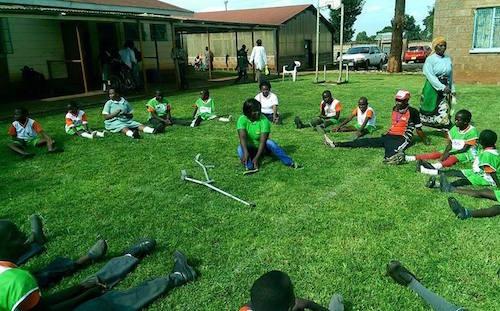 GYA from Kenya Sarah M. Musau on children with disabilities