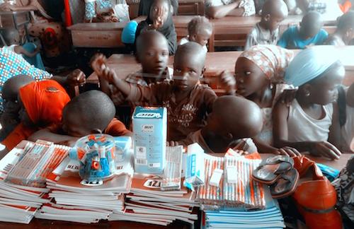 GYA from Nigeria Joy Tiku Enige at Universal Children's day event
