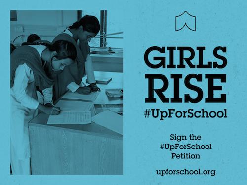 Girls Rise #UpForSchool