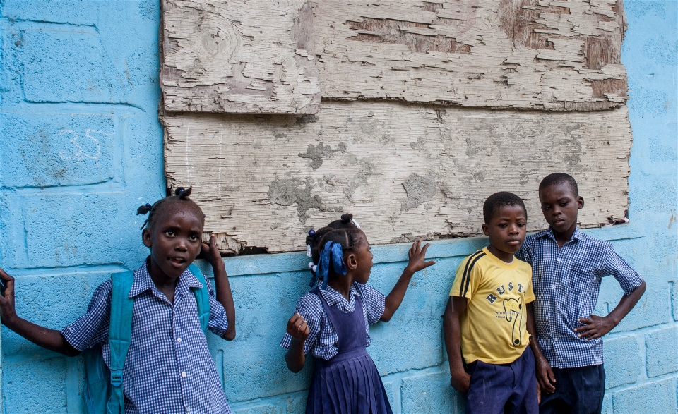 Haiti protests underline why plan to get 500,000 children into school is vital