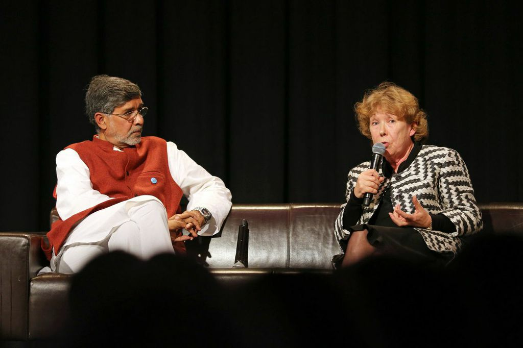 Kailash Satyarthi Ann Cotton #UpForSchool Petition