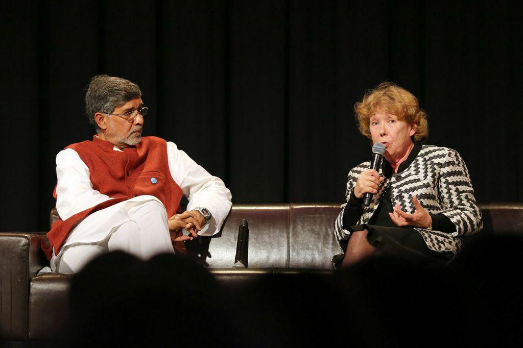 Kailash Satyarthi Ann Cotton #UpForSchool Petition