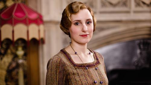 Laura Carmichael as Lady Edith in Downton Abbey.jpg