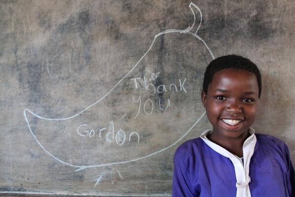 Thank YOU Zainab! Malawi girl's special message over Mary's Meals film