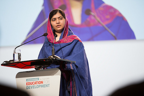 Malala Yousafzai addresses Oslo Education Summit