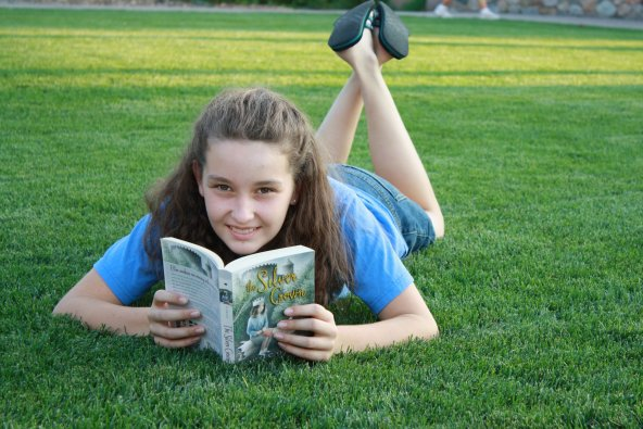 13-year-old Maria is helping to change the world with books