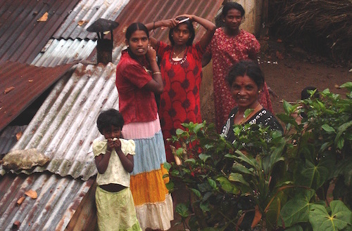 Melissa Day's family on Sri Lankan tea plantation
