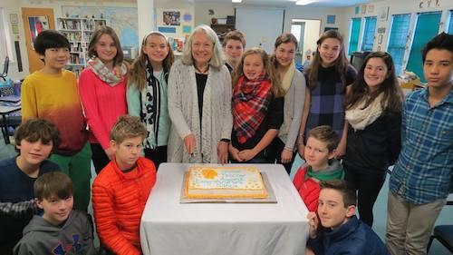 Nancie Atwell winner of the Global Teacher Prize