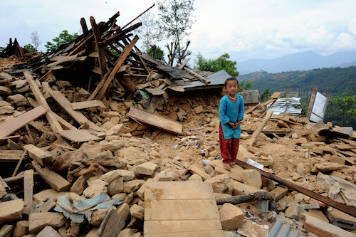 Nepal earthquake damage leaves one million children out of school