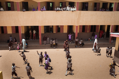 Nigeria school playground