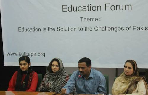 Pakistan education forum held in Islamabad