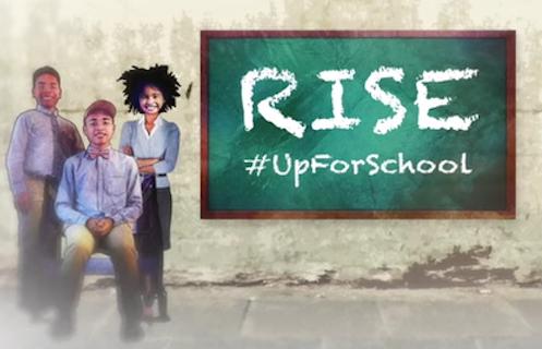 RISE #UpForSchool film ending