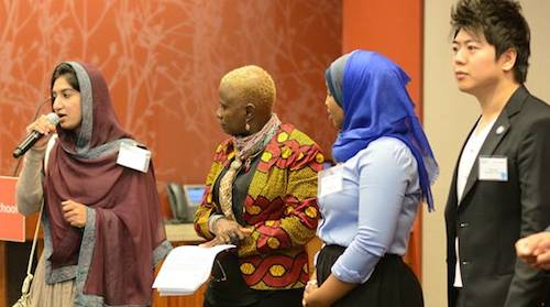 Rabia Faridi Youth Courage Awards Angelique Kidjo Lang Lang