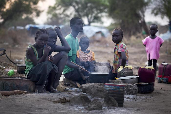 Internally displaced children in South Sudan