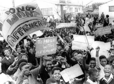Soweto uprising protest 1976
