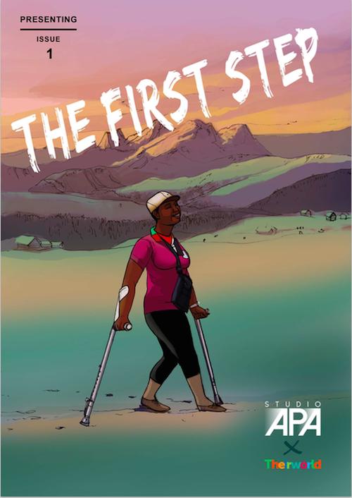 Steve Nguyen comic story about Global Youth Ambassador Wanja Maina from Kenya