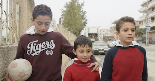 Syrian rapping brothers Mohammed Abdulrahman and Samir in Bekaa Valley