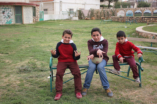 Syrian rapping refugee brothers Abdulrahman Samir and Mohammed in Bekaa Valley