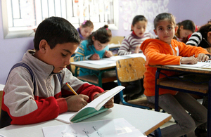 300,000 children in Lebanon to get schoolbooks thanks to British support