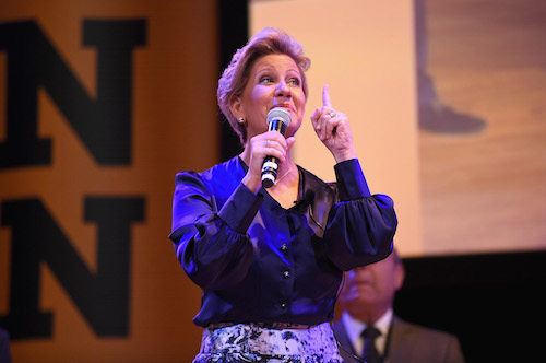 Town Hall First Lady of Panama Lorena Castillo picture by Getty Images for #UpForSchool