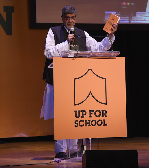 Town Hall Kailash Satyarthi picture by Getty Images for #UpForSchool