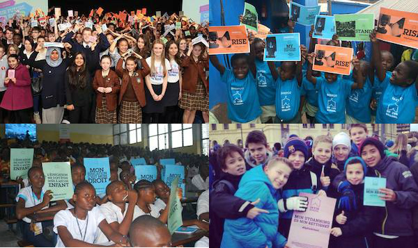 #UpForSchool events in UK, DRC, Kenya and Norway