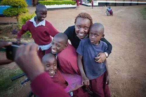 Wanja Maina Global Youth Ambassador from Kenya