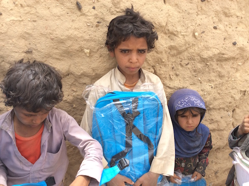 Yemeni children get UNICEF school bags distributed in Al-Jawf Governorate picture by UNICEF Prodigy