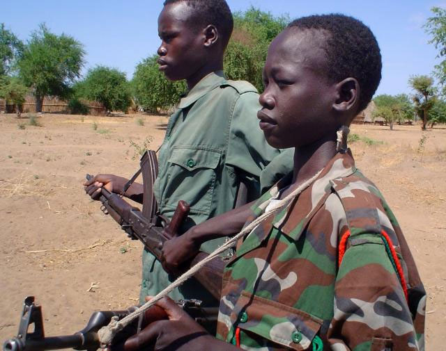 Plight of child soldiers in African conflicts highlighted by UNICEF