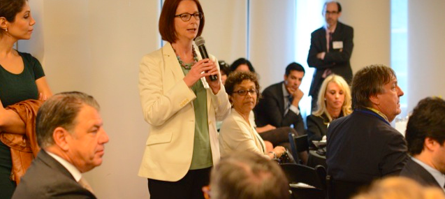 GBC-Education breakfast Julia Gillard