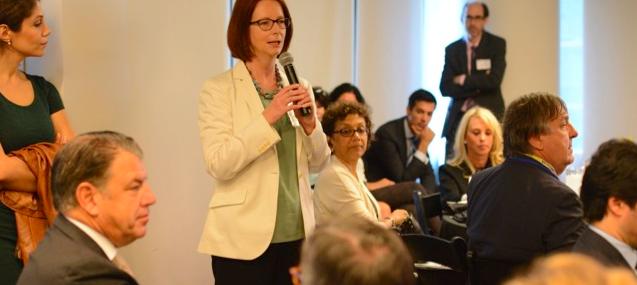 GBC-Education breakfast Julia Gillard