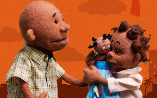 Puppets help children to deal with disasters, war and poverty